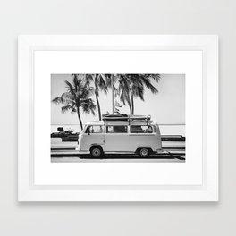 Retro Van Framed Art Print