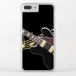 Guitar Music Clear iPhone Case