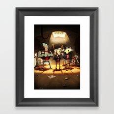 Hell's Mate Framed Art Print