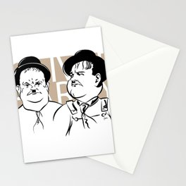 Face Olivers Hardy Stationery Cards