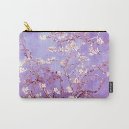 Van Gogh Almond Blossoms Orchid Purple Carry-All Pouch