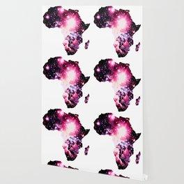 Nebula Galaxy Africa Pink Purple Wallpaper