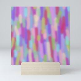 Purple lights Mini Art Print