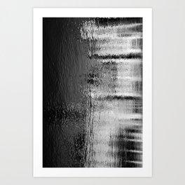 Blurred Water Art Print