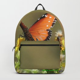 A Pair of Queens on Rubber Rabbitbrush Backpack