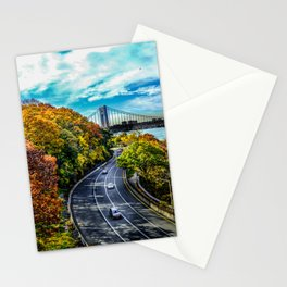 Fall along the Hudson Stationery Cards