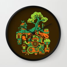 SUBterrian (Make A Wish) Wall Clock