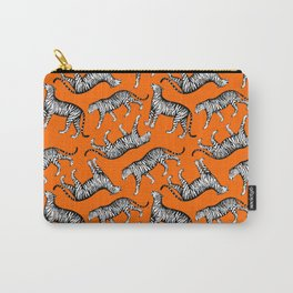 Tigers (Orange and White) Carry-All Pouch