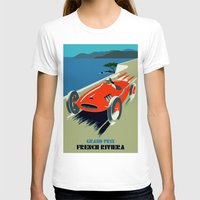 grand theft auto T-shirts featuring Retro style auto Grand Prix Rivièra by aapshop