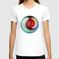 jazzberry T-shirts featuring Apple of Eden by Klara Acel