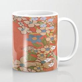 Ornamental Floral Wreath Coffee Mug