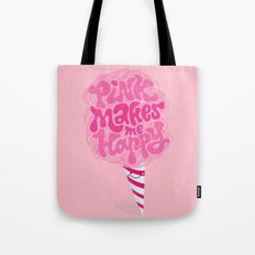cotton candy pinkaholic Tote Bag