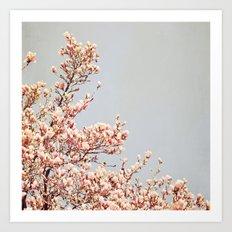 Magnolia Drive Art Print