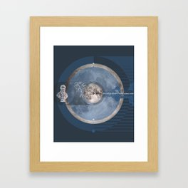 O Moon! the oldest shades #everyweek 45.2016 Framed Art Print