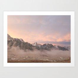 Himalayan Sunrise Art Print