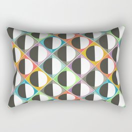 eclipse diamonds Rectangular Pillow