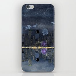 童話與現實的邊緣 Living between Fairy Tale and Reality iPhone Skin