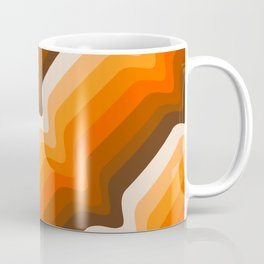 Golden Wave Coffee Mug
