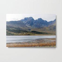 Isle of Skye in Scotland Metal Print
