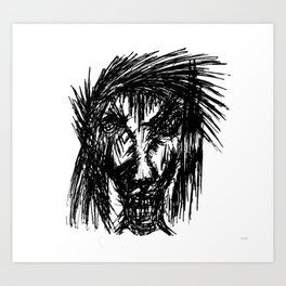 Judas Art Print