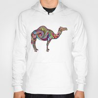 camel Hoodies featuring Camel by Green Girl Canvas