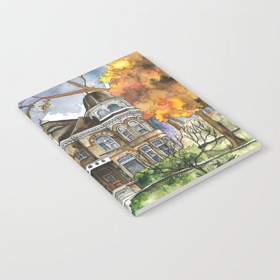 Victorian Autumn Notebook