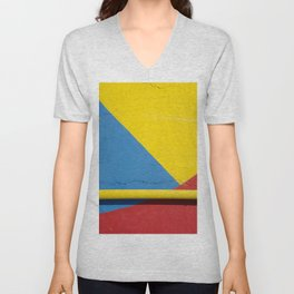 Bold colors Unisex V-Neck