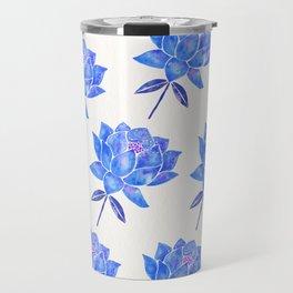 Sacred Lotus – Blue Blossom Travel Mug
