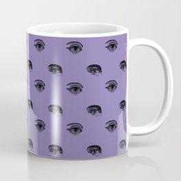 WATCHING YOU, LAVENDER Coffee Mug