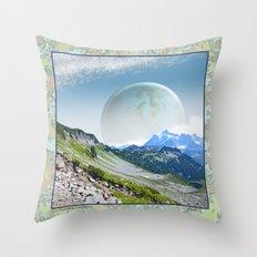 PLANETARY COMPANION Throw Pillow