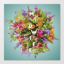 Midwife's Bouquet Canvas Print