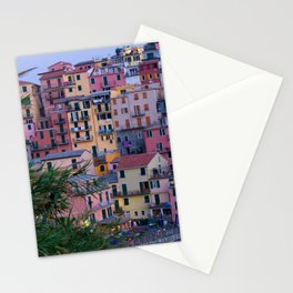 Cinque Terre at Dusk Stationery Cards