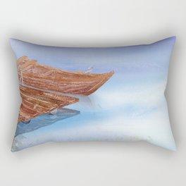 Perfect reflection of beautiful sky | Miharu Shirahata Rectangular Pillow