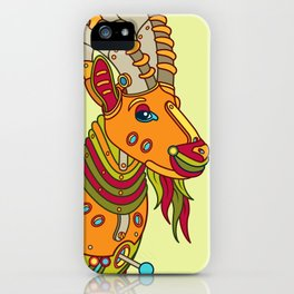 Ibex, cool wall art for kids and adults alike iPhone Case