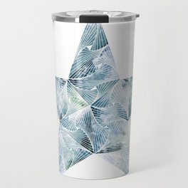 Frosted Star Travel Mug