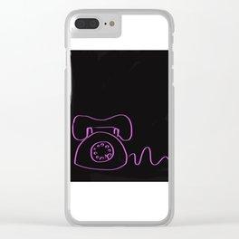 Tu tu Clear iPhone Case