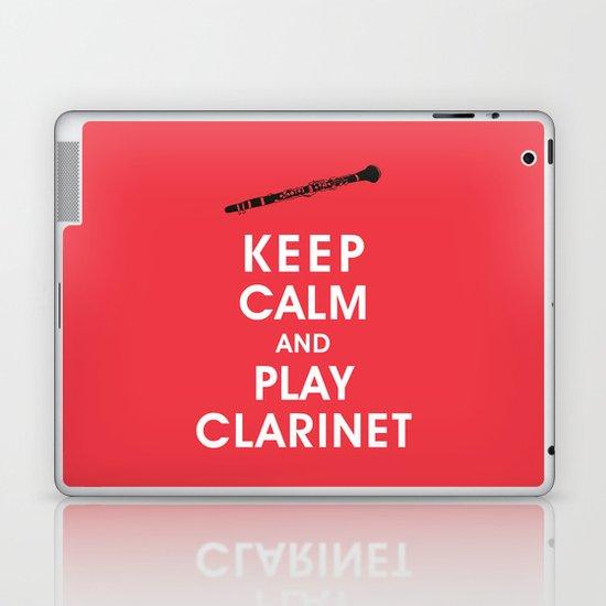 Keep Calm and Play Clarinet Laptop & iPad Skin