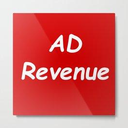 MEME Supreme ad revenue Metal Print