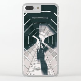 Space 02 Clear iPhone Case