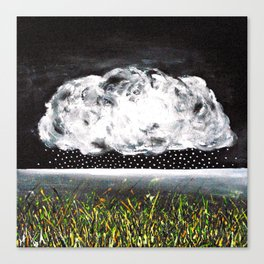 The large cloud - a small rain Canvas Print
