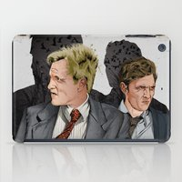 true detective iPad Cases featuring True Detective by The Art Warriors