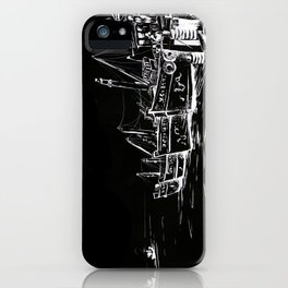 fishing boats iPhone Case
