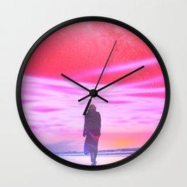 ENTER DREVMS II Wall Clock