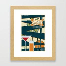 The Oasis Framed Art Print