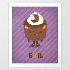 Devil's Food Cake Art Print