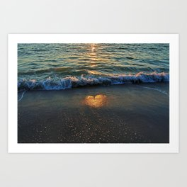 Yes, the Ocean Knows Art Print