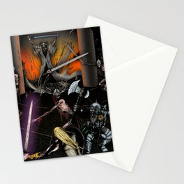 In the Chamber of the Mage-King Stationery Cards