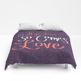 So Comes Love Comforters