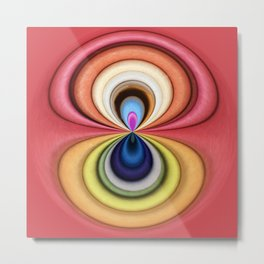 - Abstract Colour Design Metal Print