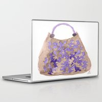 tote bag Laptop & iPad Skins featuring Tote 1 by ©valourine